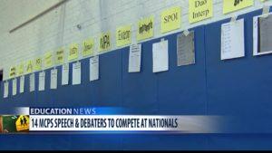Speech and Debate Nationals