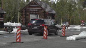 Yellowstone National Park Gate