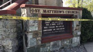 Kalispell St. Mathhews Church Fire