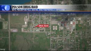 Polson 5.10.19 Drug Raid Map
