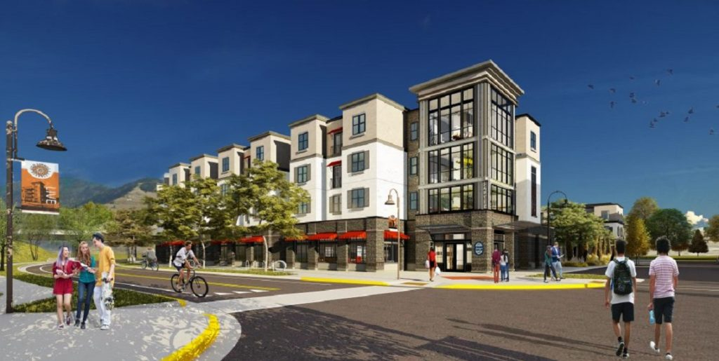 Old Sawmill District Rendering