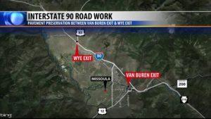 I-90 Road Work