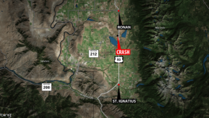 Three killed in two vehicle accident on Highway 93 North