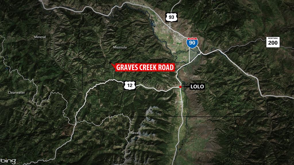 Graves Creek Fatal Map