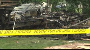 Missoula Camper Explosion