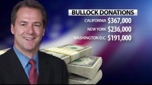 Bullock Campaign Fundraising