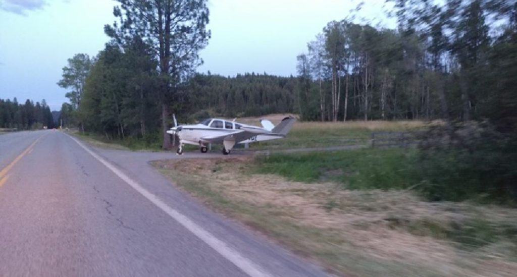 Idaho Plane Emergency Landing