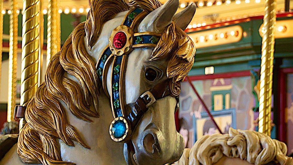 Carousel For Missoula Horse