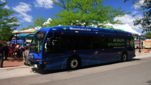 Mountain Line Electric Bus