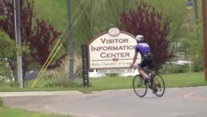 Butte Cyclist