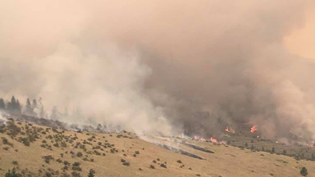 Moss Ranch Fire