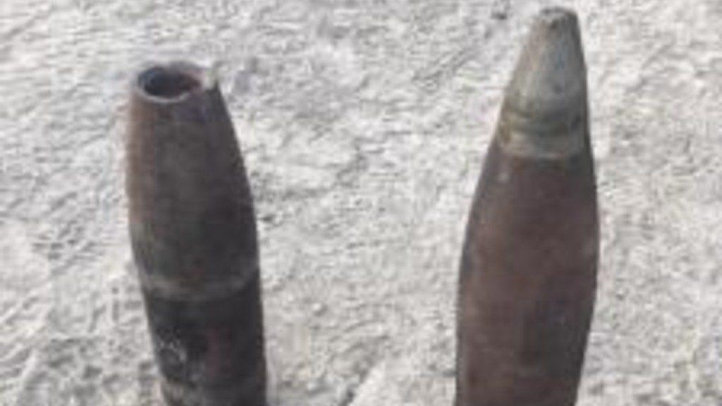 Artillery Shells Bannack