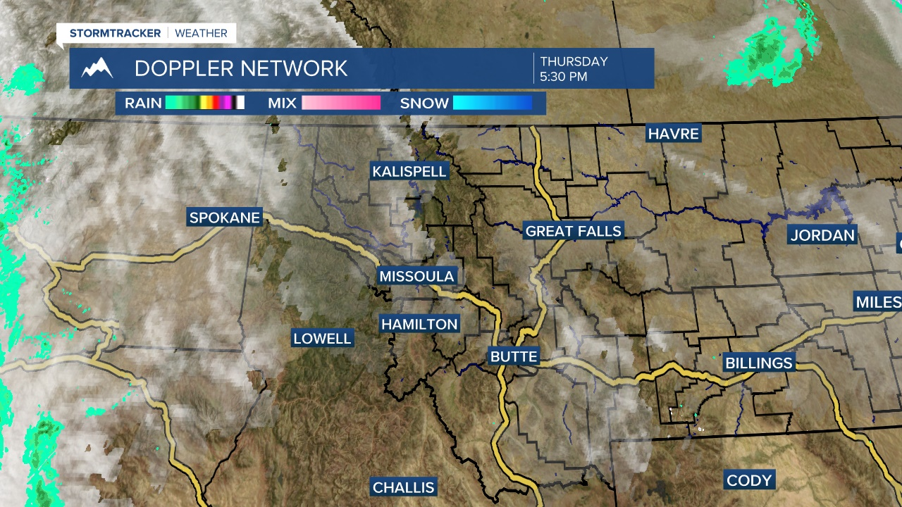 West-Central Montana Radar